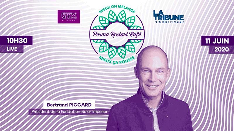 3ème «Perma Restart café» avec Bertrand Piccard, président de la fondation Solar Impulse
