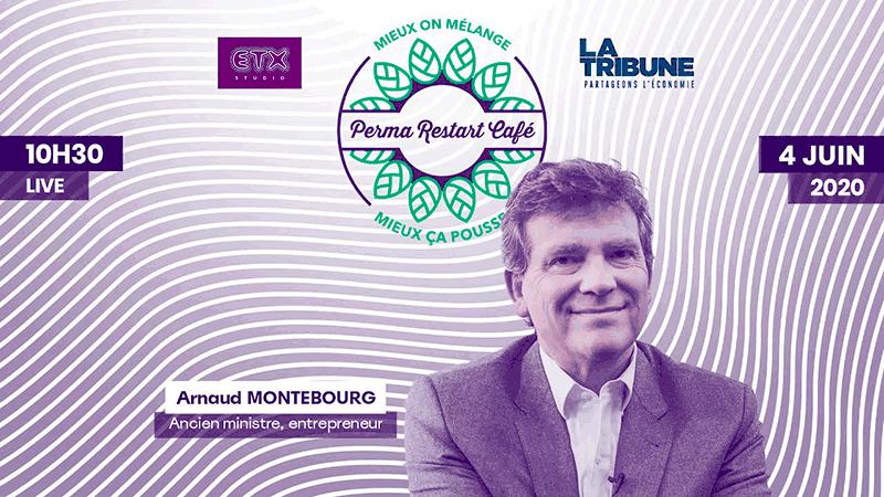 Arnaud Montebourg invité du 2ème «Perma Restart Café» organisé par ETX Studio et La Tribune