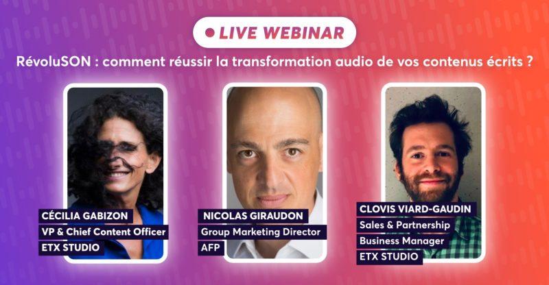 RévoluSON : Comment réussir la transformation audio de vos contenus écrits ?