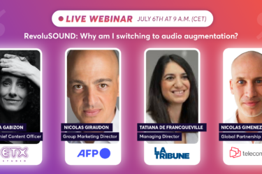 RevoluSOUND: why am I switching to audio augmentation?