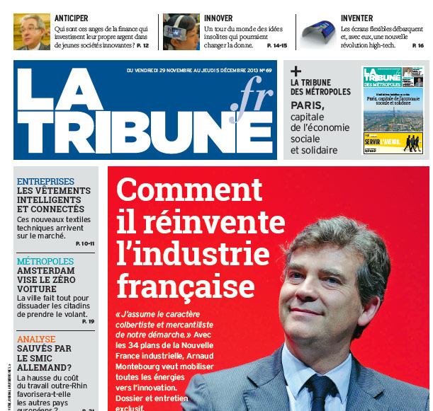 Relaxnews revisite la maquette de La Tribune
