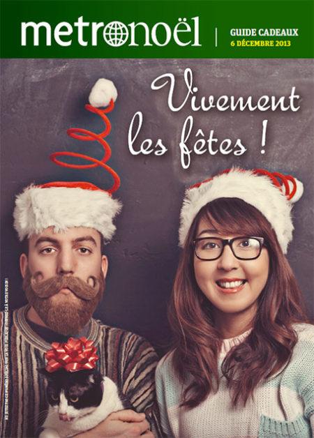 Relaxnews réalise un supplément cadeaux de Noël pour Metronews