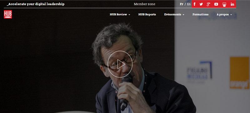 Relaxnews partage sa vision de l'innovation au HUBDAY