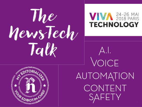 """VivaTech: The """"NewsTech Talk"""" Recap"""