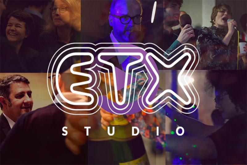 Soirée de lancement de l'agence de presse ETX Studio